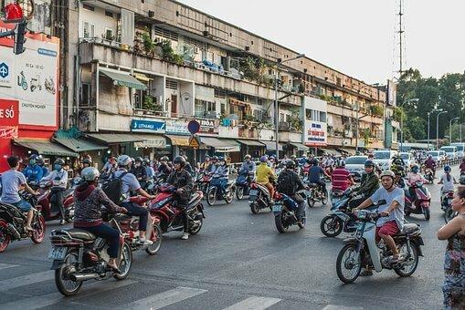 motos Vietnam