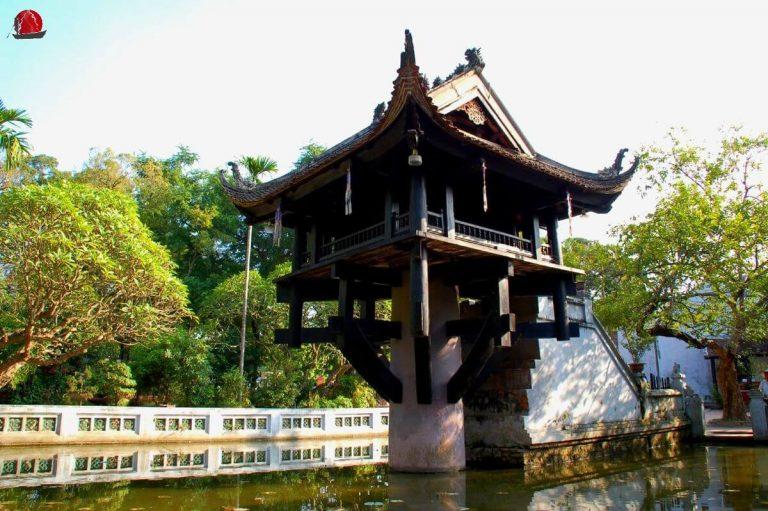 Pagoda pilar unico