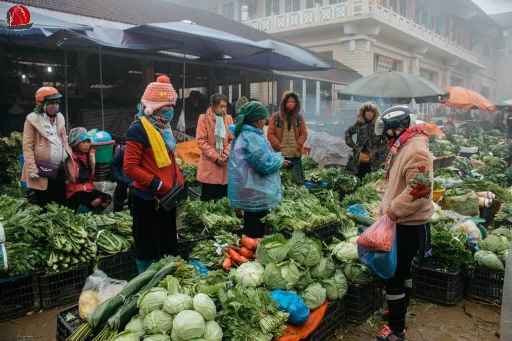 mercado de Sapa