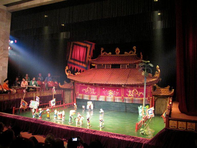 teatro marionetas de agua hanoi