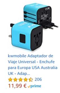 adaptador universal amazon